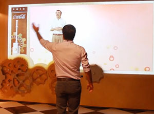 Kinect Games Fábrica de la Felicidad CocaCola