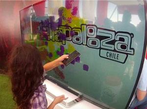 App LG Lollapalooza Chile 2013